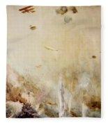 The Raid On Cuxhaven Fleece Blanket