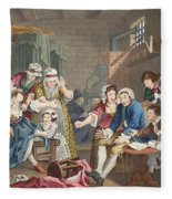 The Rake In Prison, Plate Vii, From A Fleece Blanket