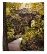 The Ramble Stone Arch Fleece Blanket