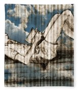 The Reader Fleece Blanket