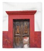 The Red Door Fleece Blanket
