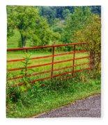 The Red Gate Fleece Blanket