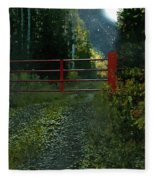 The Red Gate Fleece Blanket