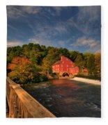 The Red Mill Fleece Blanket