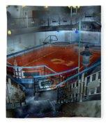 The Red Pool Fleece Blanket