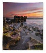 The Reef Fleece Blanket