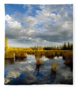the Reflection  Fleece Blanket