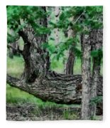 The Resting Place Fleece Blanket
