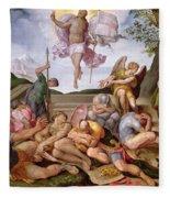 The Resurrection Of Christ, Florentine School, 1560 Fleece Blanket
