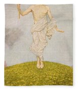 The Resurrection Of Christ Fleece Blanket
