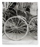 The Rickshaws Fleece Blanket