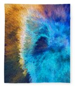 The Right Direction - Abstract Art By Sharon Cummings Fleece Blanket
