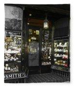 The Ring Shop In Margate England  Fleece Blanket
