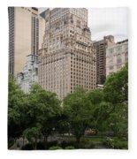 The Ritz Carlton Central Park Fleece Blanket
