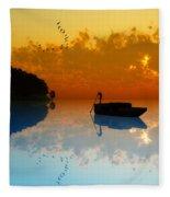 The Riverboat... Fleece Blanket