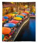 The Riverwalk Fleece Blanket