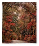 The Road To Home Fleece Blanket