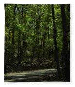 The Roads Of Alabama Fleece Blanket