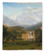 The Rocky Mountains Landers Peak Fleece Blanket
