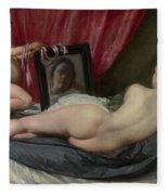The Rokeby Venus Fleece Blanket