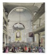 The Roman Catholic Chapel, Lincolns Inn Fleece Blanket