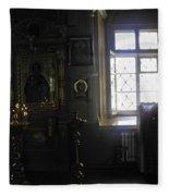 The Room - Moscow - Russia Fleece Blanket