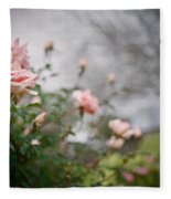 The Rose Garden Fleece Blanket