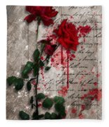 The Rose Of Sharon Fleece Blanket