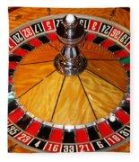 The Roulette Wheel Fleece Blanket