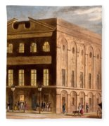 The Royal Couborg Theatre, 1826 Fleece Blanket