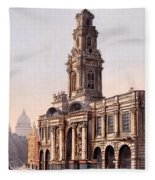 The Royal Exchange, 1816 Fleece Blanket