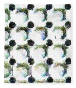 The Rubber Doormat  Fleece Blanket