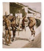 The Rural Guard Mexico Fleece Blanket