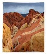Valley Of Fire Nevada 1 Fleece Blanket