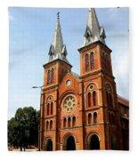 The Saigon Notre-dame Basilica Fleece Blanket