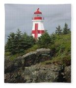 The Sailor's Signpost Fleece Blanket