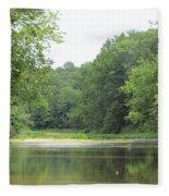 The Salt Fork River Fleece Blanket