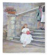 The San Gimignano Wedding Party Fleece Blanket