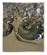 The Sand Box Fleece Blanket