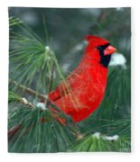 The Santa Bird Fleece Blanket