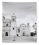 The Santo Domingo Fleece Blanket