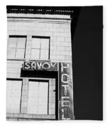 The Savoy Hotel Fleece Blanket