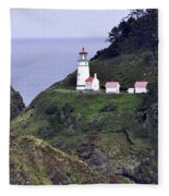 The Scenic Lighthouse Fleece Blanket