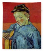 The Schoolboy Fleece Blanket