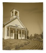 The Schoolhouse Hdr Fleece Blanket