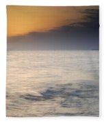 The Sea Before The Rain Fleece Blanket