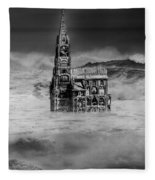 The Sea Of Remembrance Fleece Blanket