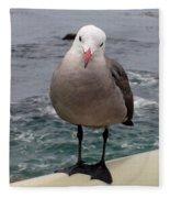 The Seagull 2 Fleece Blanket