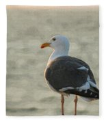 The Seagull Fleece Blanket