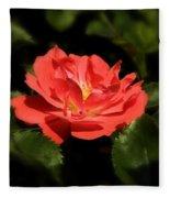 The Secret Rose Fleece Blanket